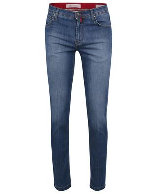Responsible blue slim fit jeans B SETTECENTO