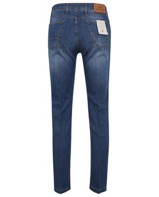 Blaue umweltverträgliche Slim-Fit-Jeans B SETTECENTO