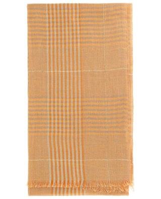Divo cotton and linen glen check scarf 19 ANDREA'S 47