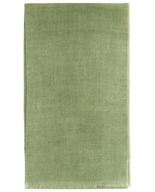 Georgina monochrome fine cashmere and silk scarf 19 ANDREA'S 47