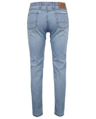 Hellblaue Slim-Fit-Jeans B SETTECENTO