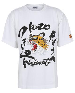 Boxy-T-Shirt mit Tiger-Print KENZO x KANSAIYAMAMOTO KENZO