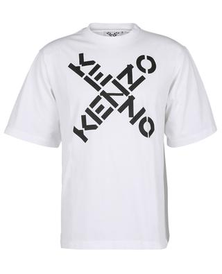 Oversize-Baumwoll-T-Shirt mit Print KENZO Sport Big X KENZO