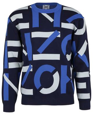 Kenzo Sport X Monogram cotton blend jacquard jumper KENZO