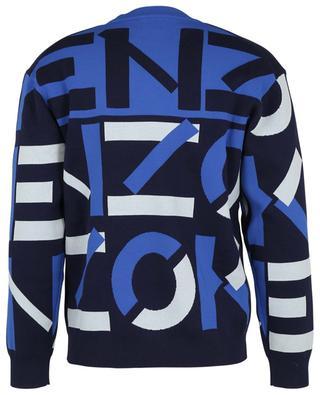 Jacquard-Pullover aus Baumwollmix Kenzo Sport X Monogram KENZO
