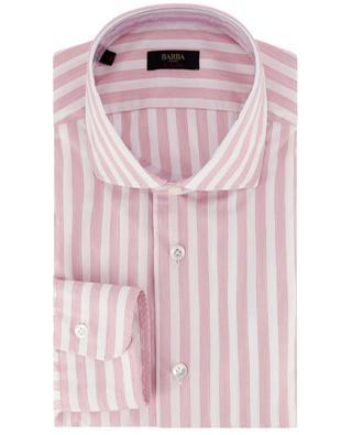 Chemise à manches longues en coton à rayures BARBA