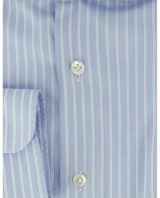 Chemise rayée à manches longues en coton BARBA