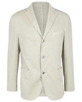 K.Jacket soft lyocell and cotton blazer BOGLIOLI