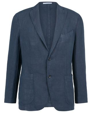 K-Jacket single-breasted linen blazer BOGLIOLI