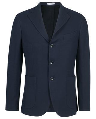 Dover supple cotton piqué blazer BOGLIOLI