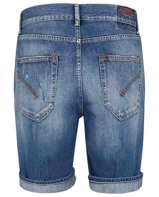 Ausgewaschene Shorts mit geradem Bein Julyan DONDUP