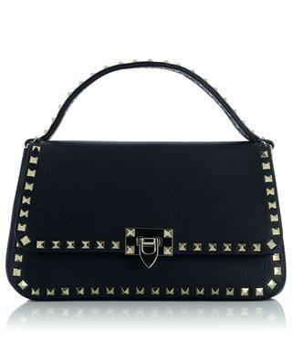 Rockstud grained leather handbag VALENTINO