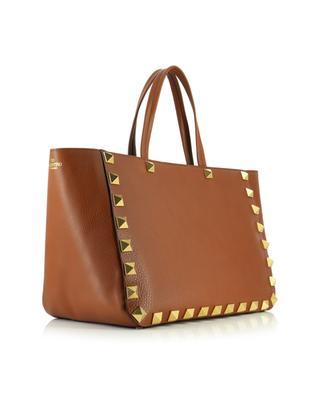 Roman Stud grained studded leather tote bag VALENTINO