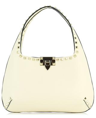 Rockstud Hobo Small grained leather handbag VALENTINO