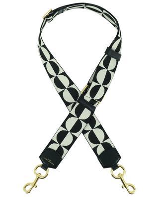 Bandoulière en tissu et cuir The Checkered Webbing MARC JACOBS
