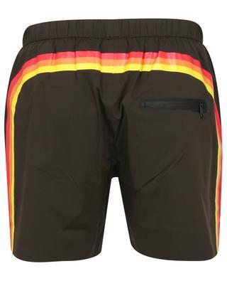 Stripe printed Lycra swim shorts SUNDEK