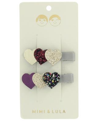 Set de barrettes Hearts MIMI & LULA LIMITED