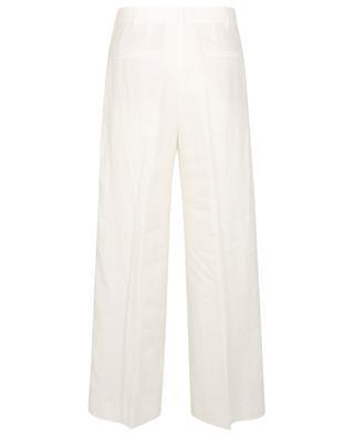Pantalon large taille haute en lin POLO RALPH LAUREN