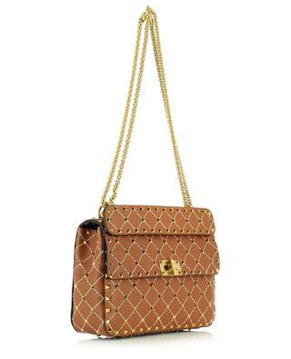 Handtasche aus gestepptem Leder mit Nieten Spike.It Medium VALENTINO