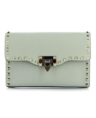 Rockstud Small studded grainy leather cross body bag VALENTINO