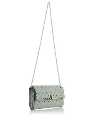 Rockstud Spike leather cross body clutch bag VALENTINO
