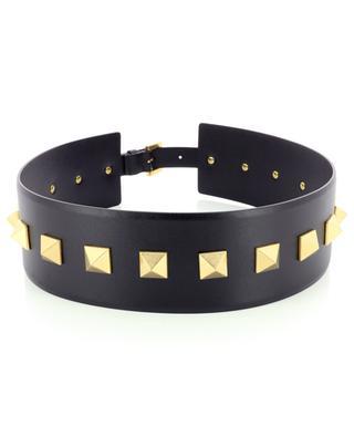 Roman Studs wide leather belt VALENTINO