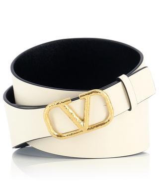 VLogo large reversible leather belt VALENTINO