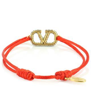 VLOGO monogram string bracelet VALENTINO