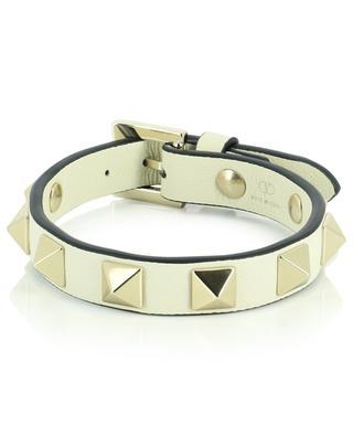 Rockstud grained leather bracelet VALENTINO