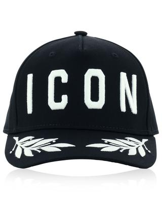 ICON Laurels embroidered baseball cap DSQUARED2