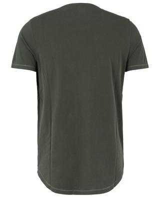 T-shirt à manches courtes et col V MAJESTIC FILATURES