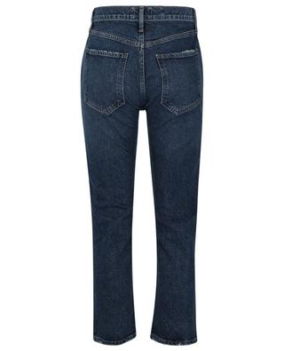 Gerade Used-Look-Jeans aus Bio-Baumwolle Riley High Rise Straight Pastime AGOLDE