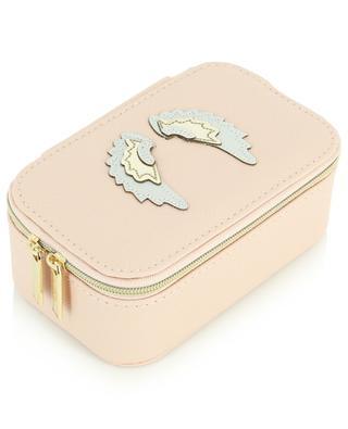 Vegan angel wings applique jewellery box ESTELLA BARTLETT