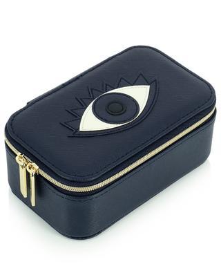 Vegan lucky eye applique jewelry box ESTELLA BARTLETT