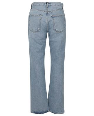 Lana Low Rise Vintage Riptide straight organic cotton jeans AGOLDE