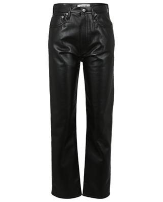 Pantalon en cuir recyclé 90's Pinch Waist AGOLDE