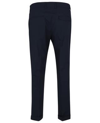 Pantalon slim en popeline PAOLO PECORA
