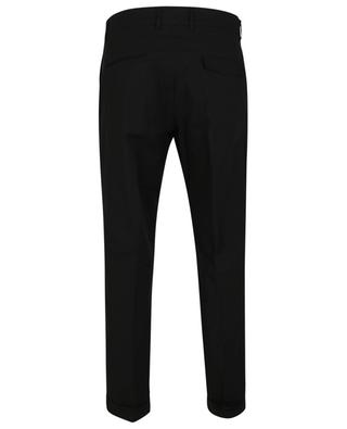 Jersey classic cropped trousers PAOLO PECORA