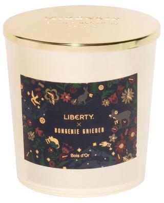 Liberty x Bongénie Grieder Bois d'Or scented candle - 230 g MIZENSIR