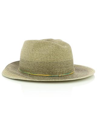 Chapeau type borsalinon en papier GI'N'GI