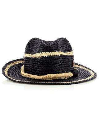 Gestreifter Hut aus Bast CATARZI 1910