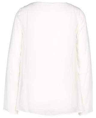 Sheer long sleeved top AKRIS PUNTO