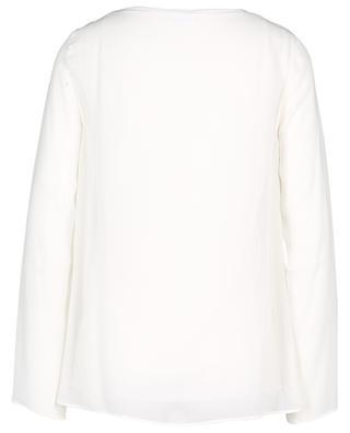 Sheer long sleeved top AKRIS PUNTO