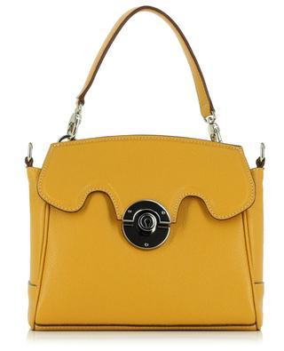 Mini Riviera grained leather handbag BERTHILLE MAISON FRANCAISE