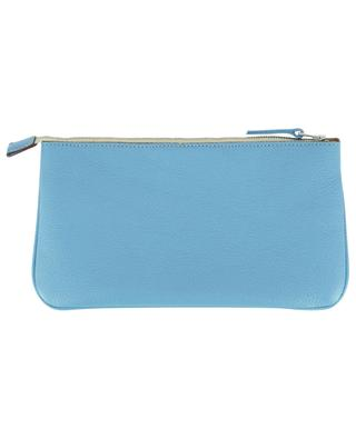 Lord grained leather zippered pouch BERTHILLE MAISON FRANCAISE