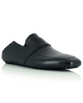 Mocassins en cuir lisse souple City Loafer BALENCIAGA