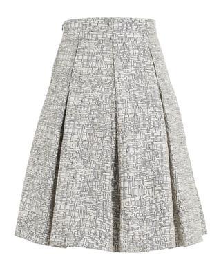 High waist embroidered skirt AKRIS PUNTO