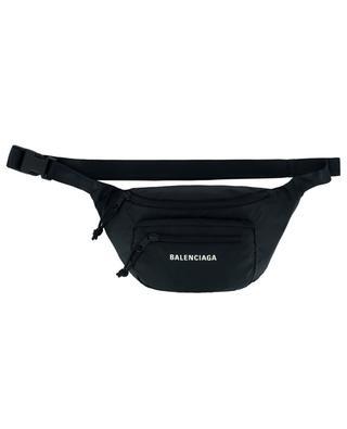 Expandable logo jacquard belt bag BALENCIAGA