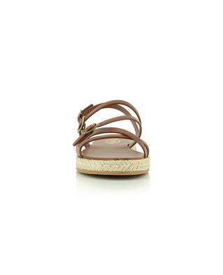 Sandales plates en cuir TOD'S
