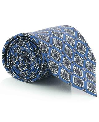 Tie and pocket square gift set with diamond print BRIONI